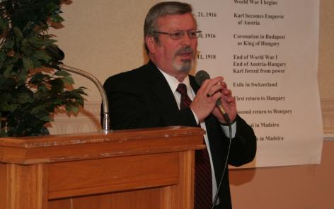 Raymond de Souza, KMspoke on The Dictatorship of Relativism and the Sacred Heart of Jesus