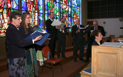 The Recusants and organistTheresa Borro