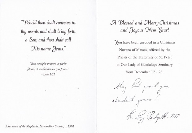 From the mail christmas greetings pittsburgh latin mass community christmasgreetings20155 m4hsunfo